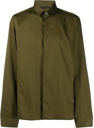 Haider Ackermann Button-Up Long-Sleeved Shirt