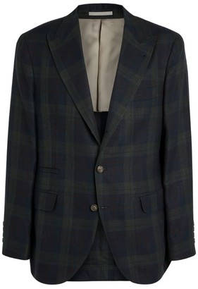 Brunello Cucinelli Tartan Jacket