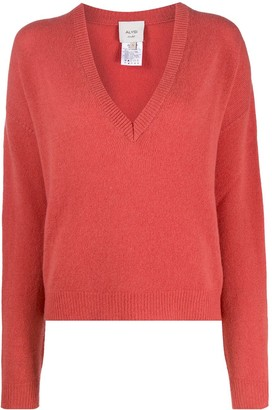 Alysi Loose-Fit Fine Knit Jumper