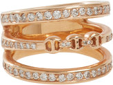 "HOORSENBUHS Women's Diamond & Rose Gold ""Asset"" Ring"