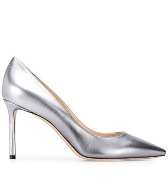 Jimmy Choo point-toe leather pumps