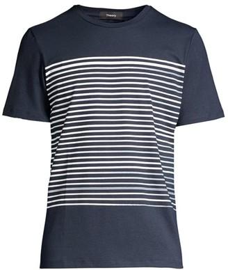 Theory Brushed Stripe T-Shirt