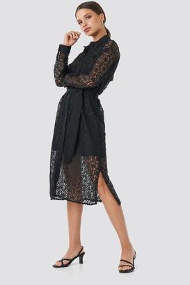 Milla Trendyol Lace Midi Dress Black