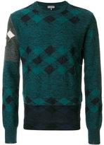 Lanvin checked sweater