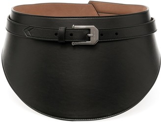 Givenchy Chunky Leather Belt