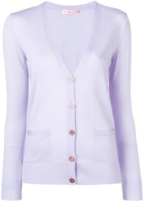 Tory Burch V-neck button cardigan