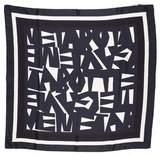 Bottega Veneta Printed Silk Scarf