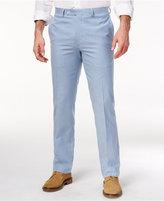 Lauren Ralph Lauren Men's Classic-Fit Blue Seersucker Cotton Dress Pants