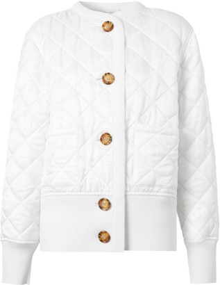Burberry Bardsey Quilted Knit-Back Jacket