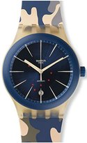 Swatch Unisex SUTT400 Sistem Incognito Analog Automatic Multi-Color Watch