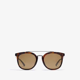 Gucci GG0403SA (Dark Havana/Gunmetal Flash) Fashion Sunglasses