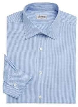 Charvet Checked Regular-Fit Dress Shirt