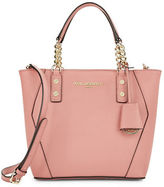 Karl Lagerfeld Paris Collette Leather Crossbody Tote
