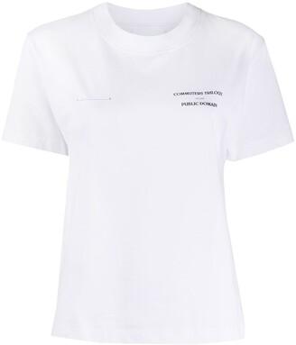 Soulland Commuters Trilogy print T-shirt