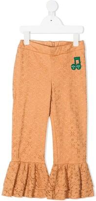 Mini Rodini Lace Frill Trousers