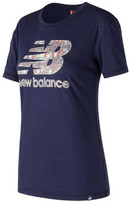 New Balance Women's WT73504 Logo Tee