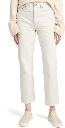 The Row Christie Cotton Denim Ankle Jeans