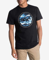 Quiksilver Men's Resin Feel Logo-Print T-Shirt