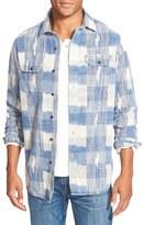 Tailor Vintage Regular Fit Ikat Sport Shirt