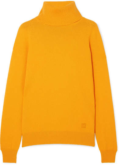 Givenchy Cashmere Turtleneck Sweater - Yellow