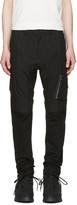 Julius Black Panelled Cargo Trousers