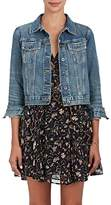 Barneys New York Women's Distressed Denim Jacket
