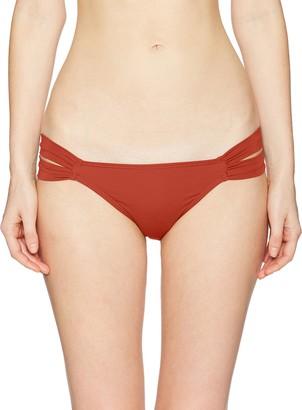 O'Neill Women's Salt Water Solids Tab Side Bikini Bottom