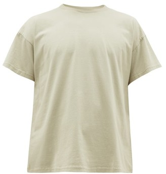 Jeanerica Jeans & Co. - Marcel 180 Organic-cotton T-shirt - Mens - Light Green
