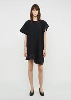 Julien David T-shirt Ruffle Dress