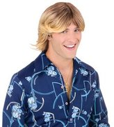 Fun World Costumes Blond Ladies Man Wig for Adults
