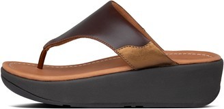 FitFlop Myla Leather Toe-Post Sandals