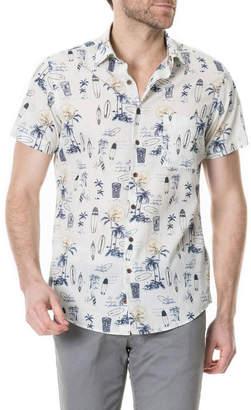 Rodd & Gunn Men's Andrewville Tiki Shirt