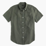 J.Crew Short-sleeve Irish linen shirt