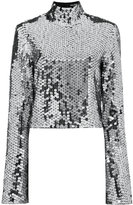 Filles a papa Sequin Embellished Top with Bell Sleeves