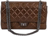 One Kings Lane Vintage Chanel Bronze Double Flap Bag
