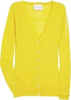 Fine-knit cashmere cardigan