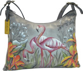 Anuschka Women's Hand Painted Slim Large Hobo