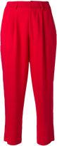 Aviu high waisted cropped trousers