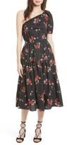 Rebecca Taylor Women's Marguerite One-Shoulder Dress