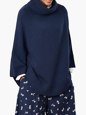 Joules Pria Knitted Poncho