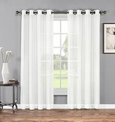 """Grommet Sheer Curtains - 2 Pieces, Beautiful, Elegant, Natural Light Flow, High Quality Material, Durable - for Bedroom, Living Room, Kid's Room, Kitchen (54""""W x 84""""L - Each Panel, White)"""