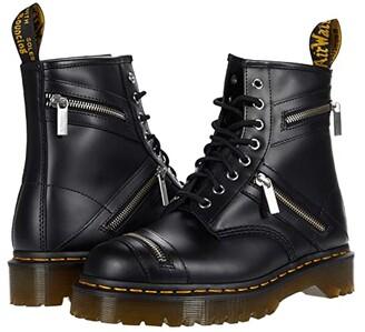 Dr. Martens 1460 Bex Zipper (Black Smooth) Shoes