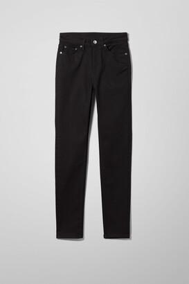 Weekday Thursday High Skinny Jeans - Black