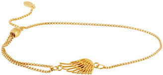Alex and Ani Wing Pull-Chain Bracelet, Gold Vermeil