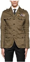 DSQUARED2 Military Green Field Marshal Blazer