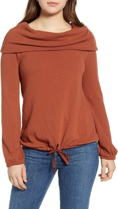Caslon Convertible Off the Shoulder Pullover