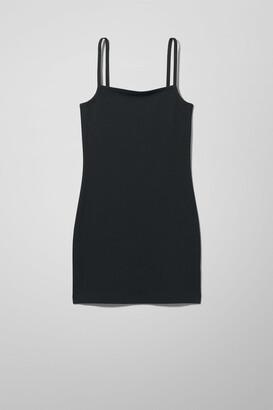 Weekday Hilda Dress - Black