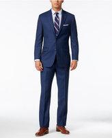 Lauren Ralph Lauren Men's Navy Neat Ultraflex Pure Wool Slim-Fit Suit