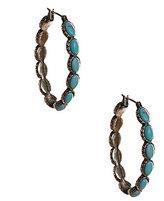 Lucky Brand Oblong Hoop Earrings