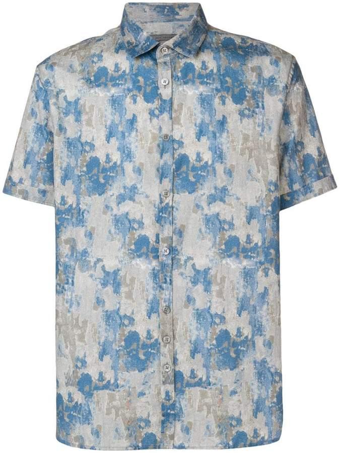 John Varvatos printed shirt